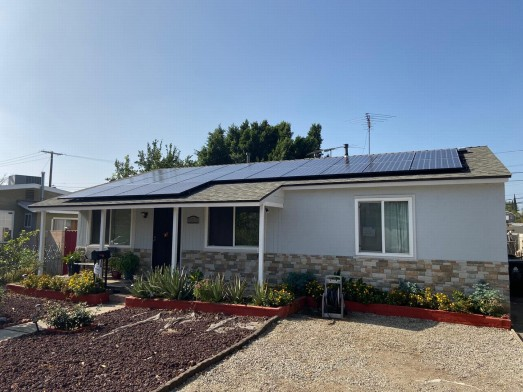 Roof Replacement & Solar Install