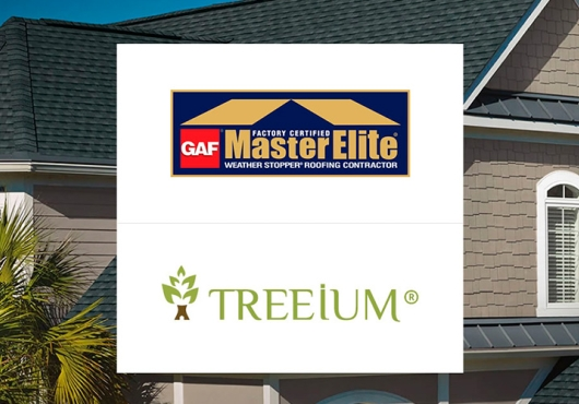 Treeium Inc.'s Energy Division Has Earned the Prestigious Master Elite Roofer Designation From General Aniline & Firm