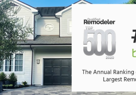Treeium, Inc. Awarded Once again as one of the Top Remodelers in the Nation
